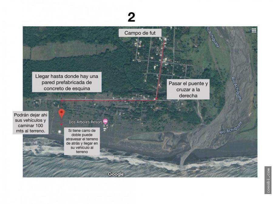 venta de terreno grande en el puerto de san jose escuintla