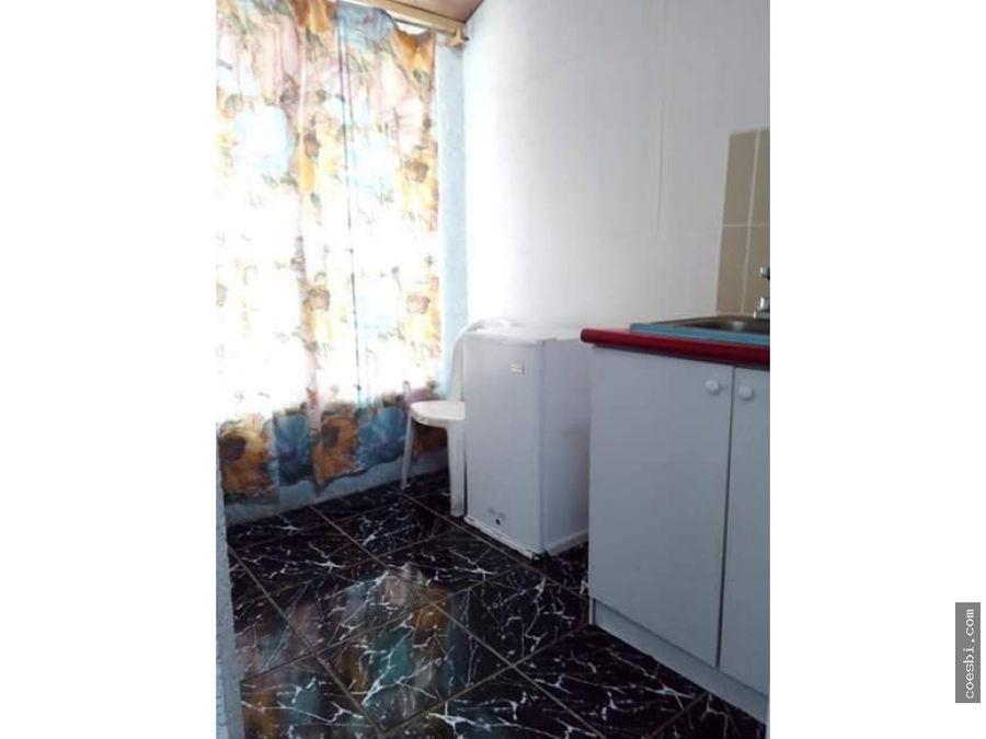 apartamento pequeno para una persona en san pedro el panorama
