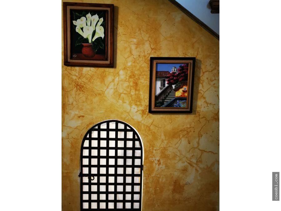 apartamento tipo loft en renta dentro de residencial en antigua g