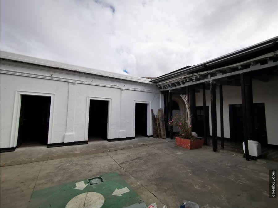 ambientes en alquiler en el centro historico de la z1 para locales