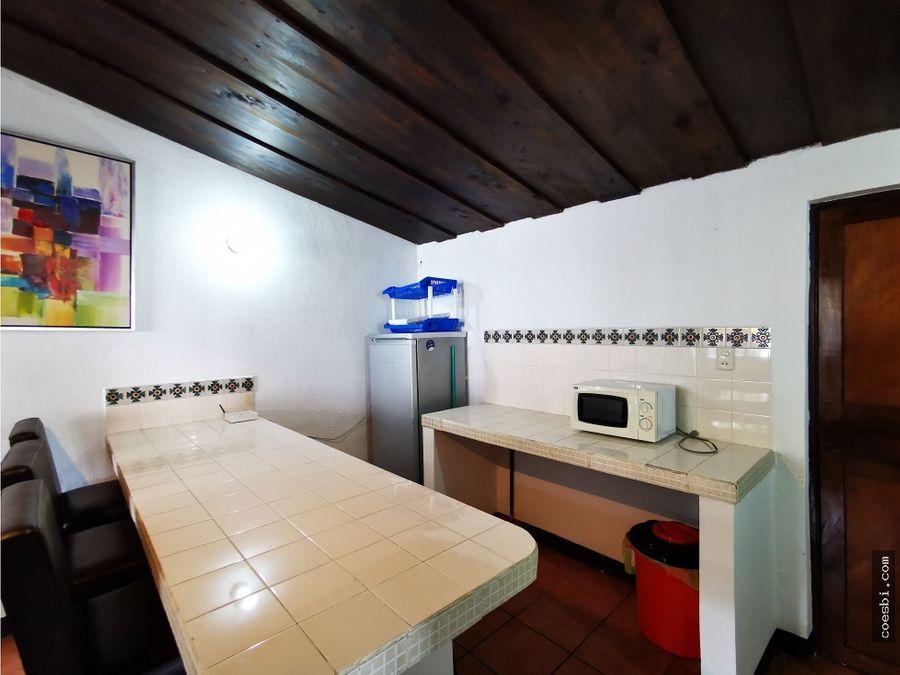 apartamento de dos habitaciones en el naranjo antigua guatemala