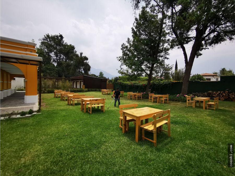 locales en renta dentro de nuevo complejo recreativo en antigua guatem