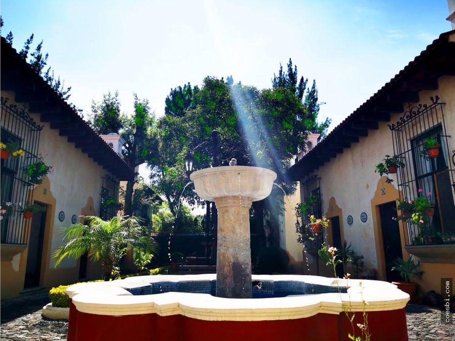 en renta amplio aparto a pocos minutos del centro de la antigua guate