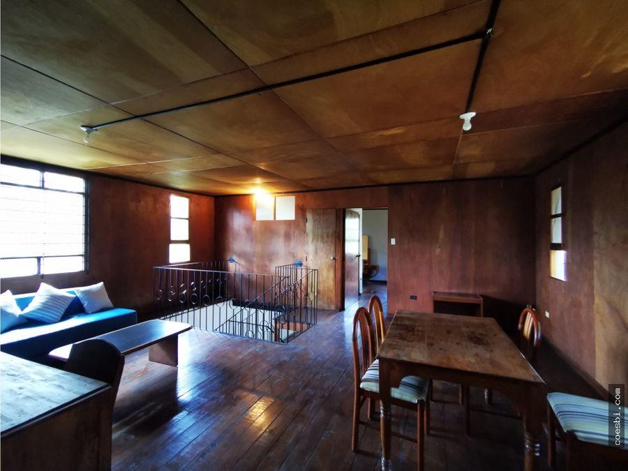 apartamento tipo town house en renta en el casco historico de antigua