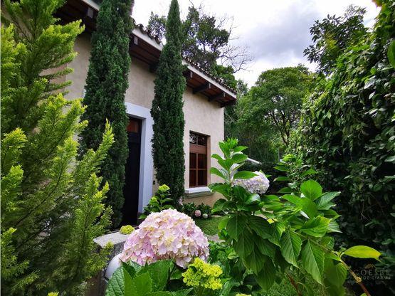 villa apartamento en condominio en el ingreso a antigua guatemala