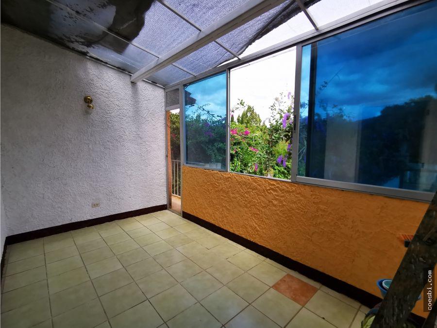 apartamento de 3 habitaciones en san pedro el panorama antigua