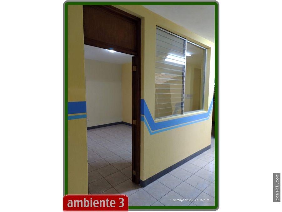 en renta casa de 8 oficinas en zona 7 col tikal 3 cd guatemala