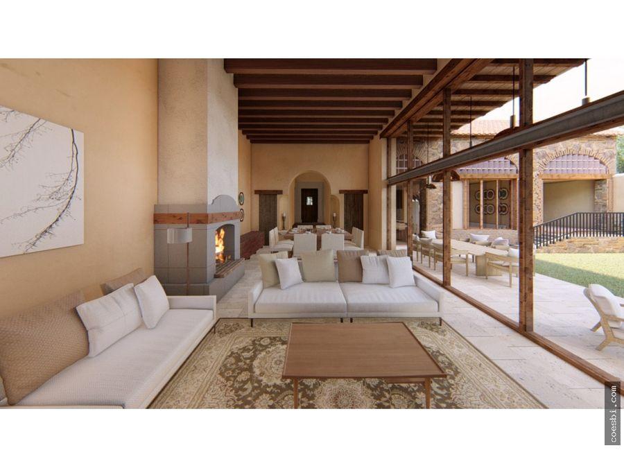 en venta espectacular casa en exclusivo residencial condado del obispo