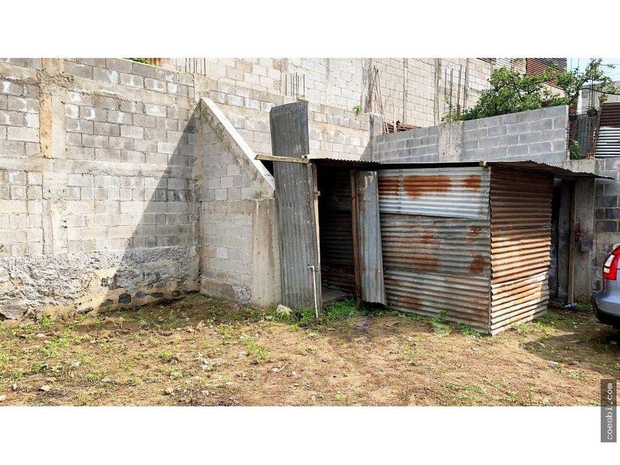 en renta terreno de 539mts2 en ciudad vieja sacatepequez