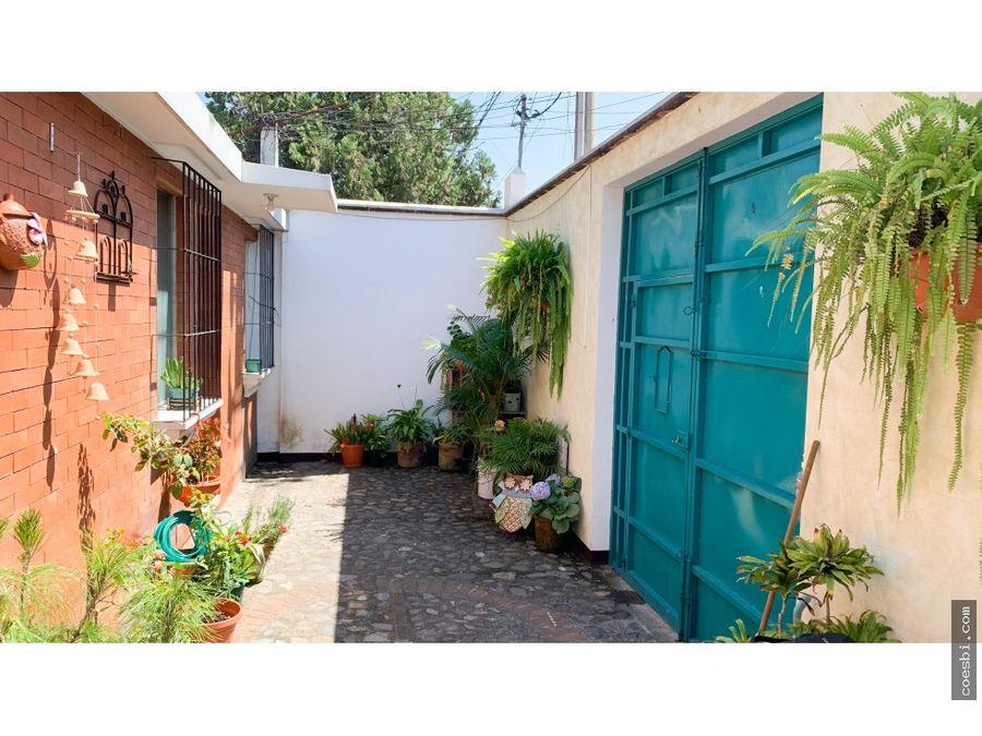 alquiler de 2 habitaciones en antigua guatemala cerca del manchen