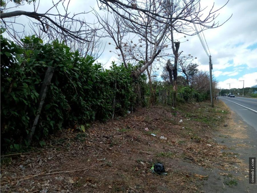 terreno en venta totalmente plano en la rn14 ciudad vieja sac