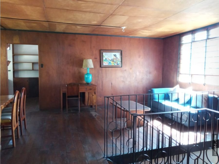 se renta precioso y amplio apartamento en centro de la antigua gt