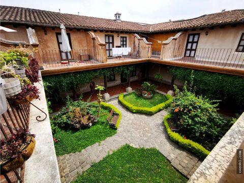 en renta apartamento tipo loft dentro de residencial en antigua guatem