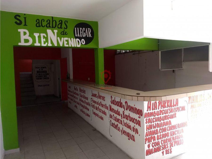 renta de local comercial en san nicolas
