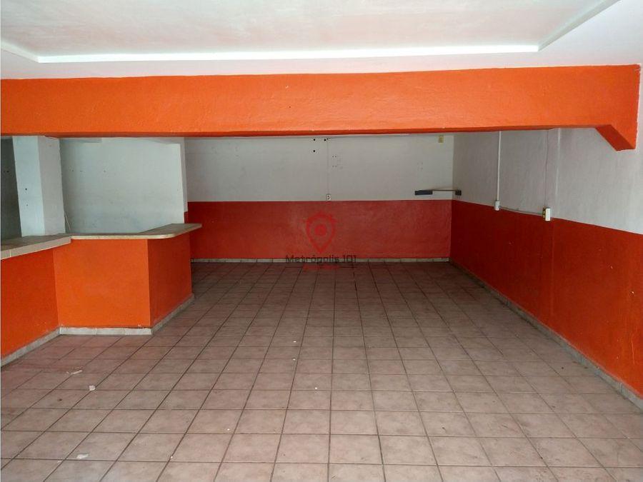 local comercial en renta area de san nicolas