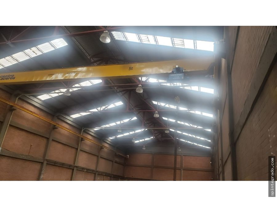 bodega industrial o logistica triple altura y triple acceso