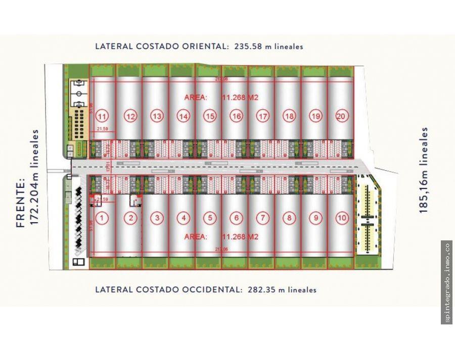 predio adecuado proyecto industrial con licencia de urbanismo servicio