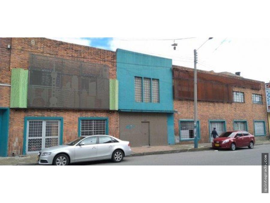 vendo excelente bodega con oficinas barrio santafe 1670 m2