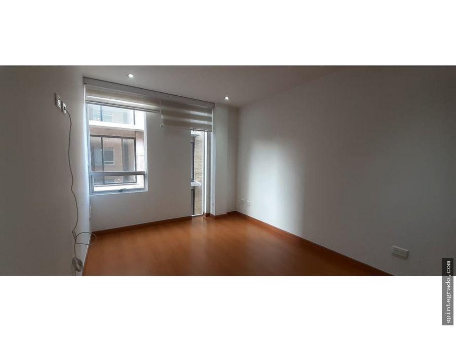 arriendo apartamento en santa barbara 76 mts 2 hab estudio