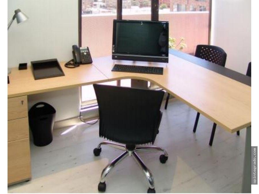 piso de oficinas arriendo amobladas
