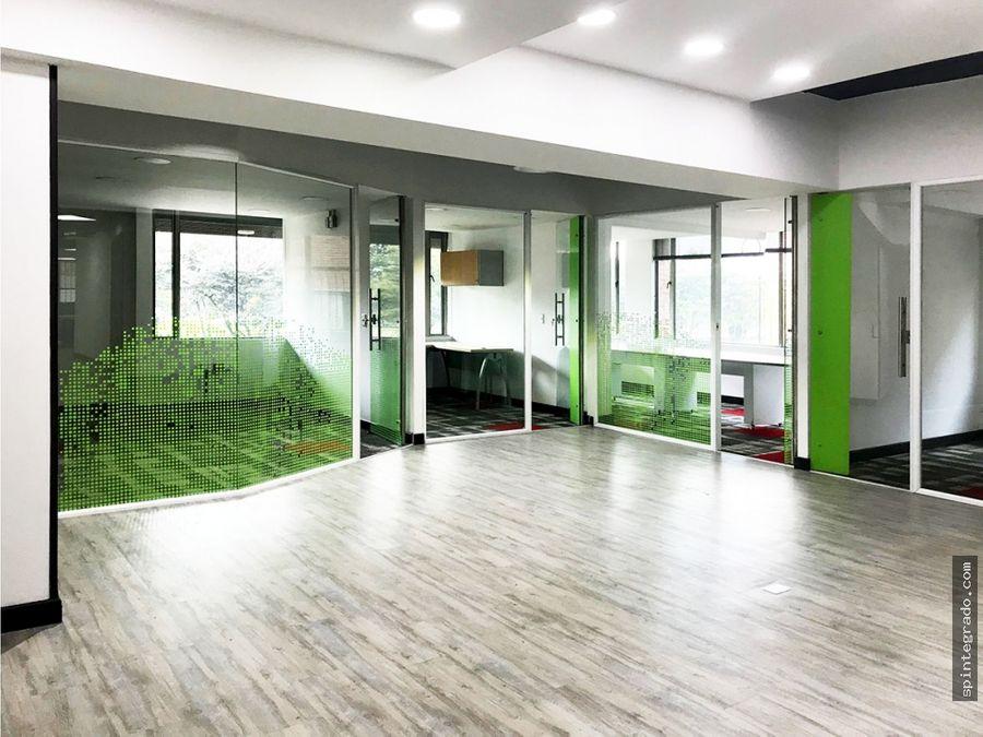venta o alquiler oficinas dotadas y remodeladas total o por pisos