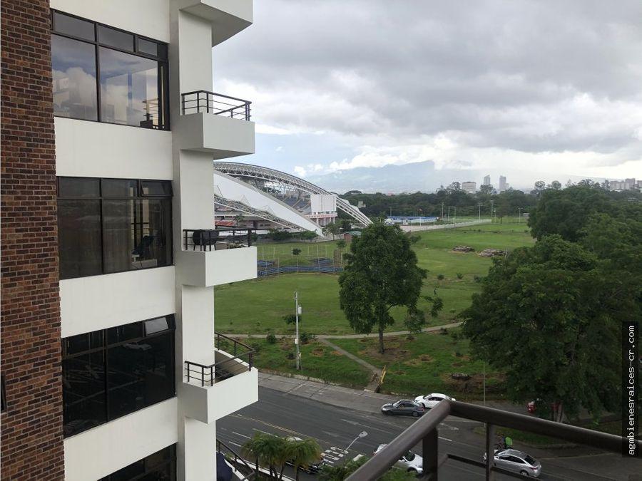 torre vista del parque alquiler apartamento