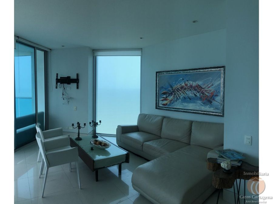 venta apartamento 2 alcobas frente al mar