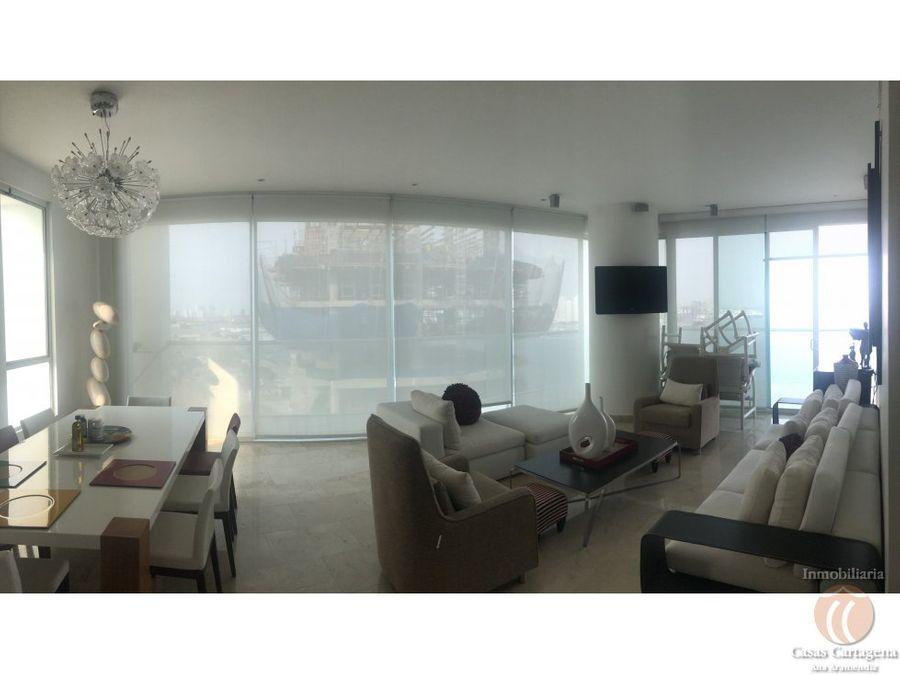 venta apartamento frente a la bahia cartagena