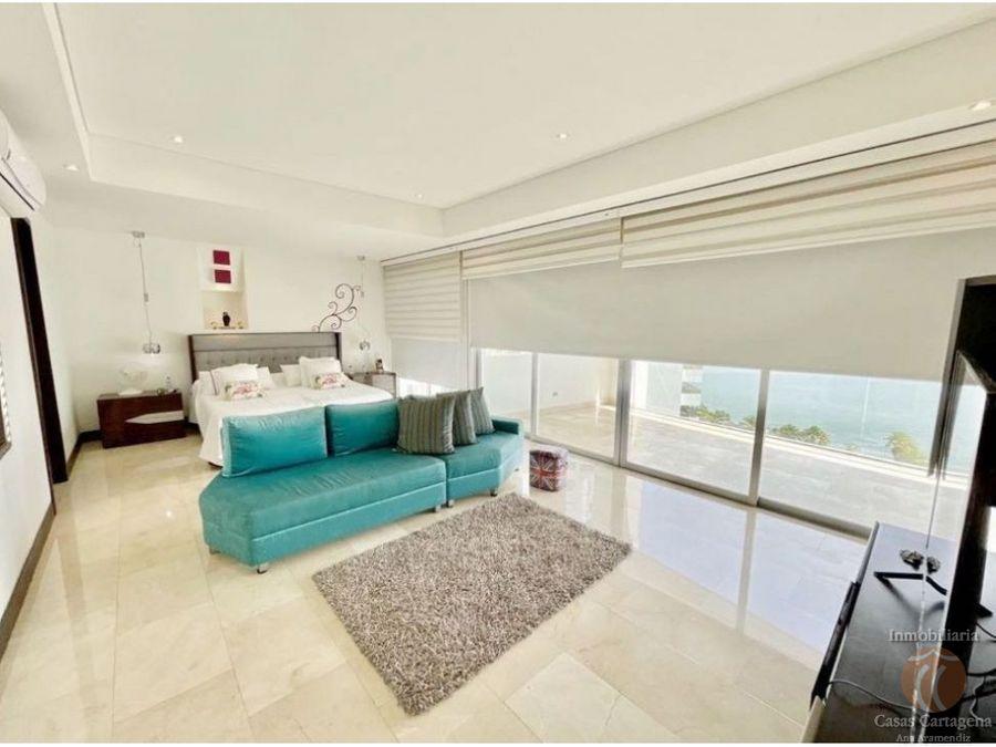 venta apartamento 4 habitaciones en grand bay cartagena frente bahia