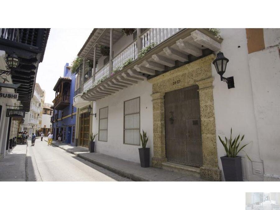 arriendo casa colonial centro historico cartagena