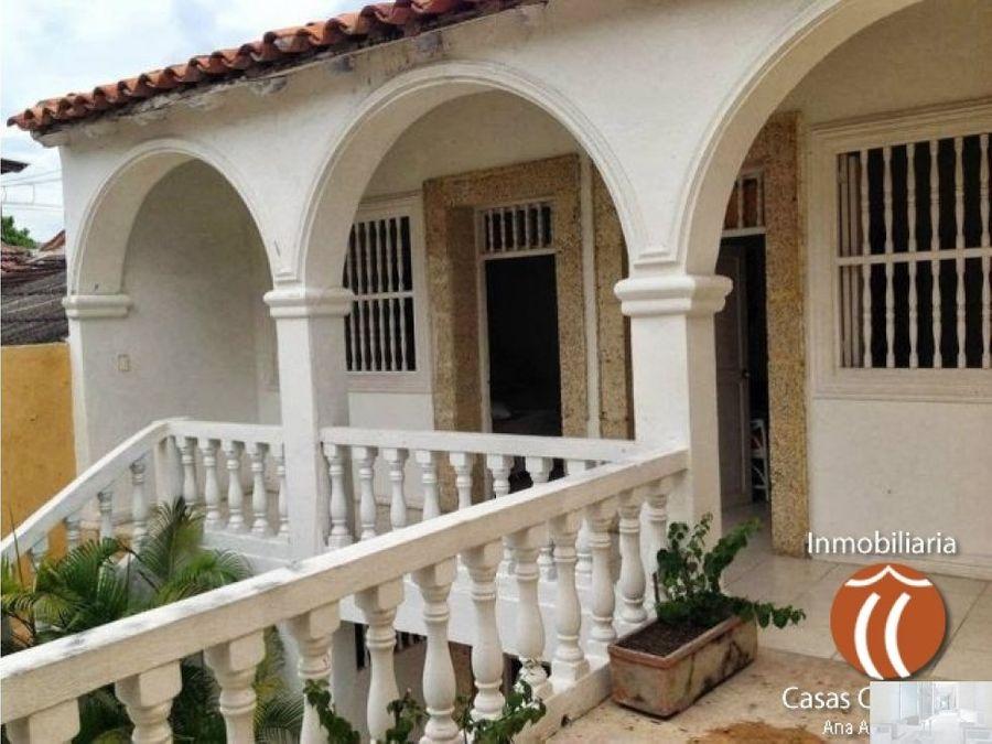 casa amoblada en centro historico cartagena