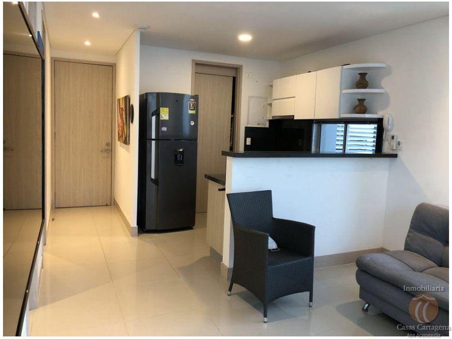 venta apartamento de 1 alcoba bocagrande vista cartagena