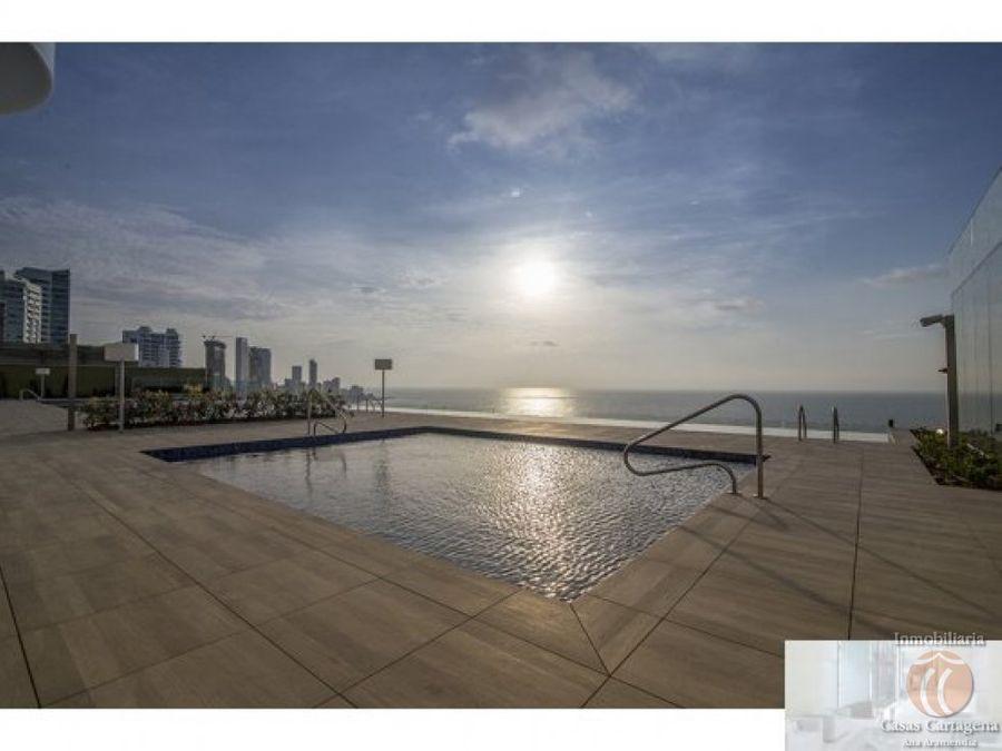 apartamento venta bocagrande vista al mar h2