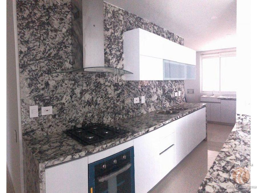 venta apartamento frente a bahia aura del mar cartagena