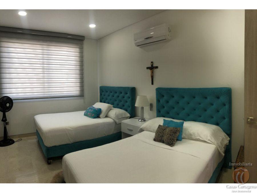 venta apartamento manga cartagena 3 alcobas