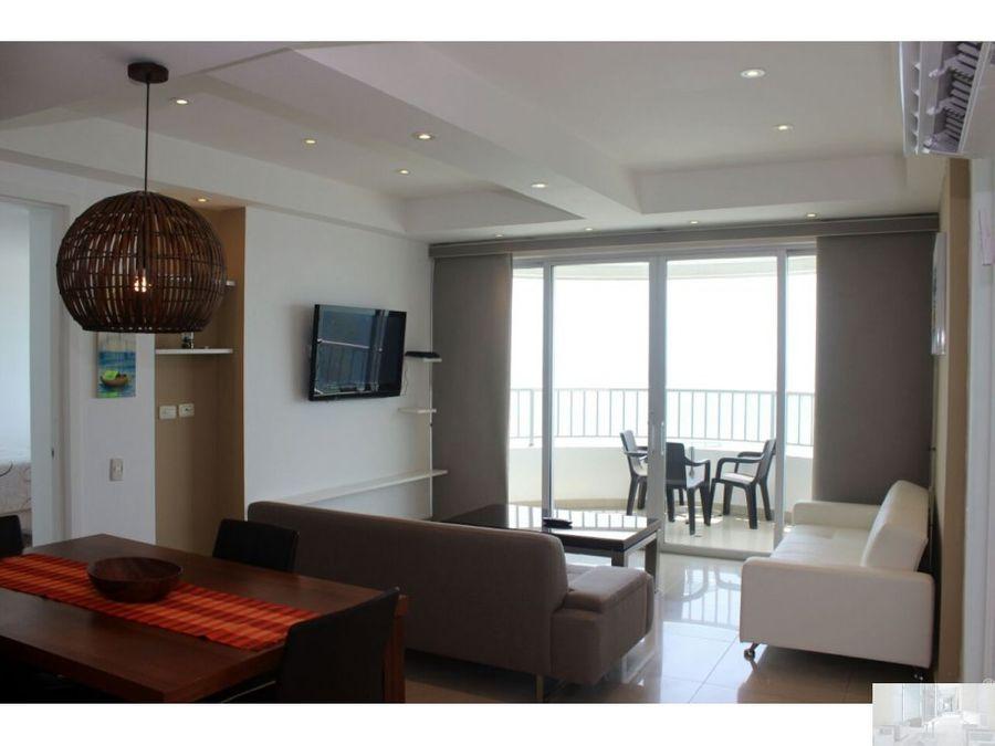 apartamento1402 frente al mar en edificio palmetto