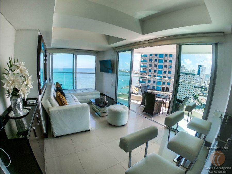palmetto eliptic p19 venta apartamento 2 alcobas vista al mar