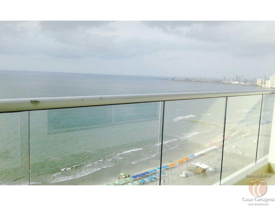 venta apartamento 1 alcoba frente al mar palmetto beach cartagena