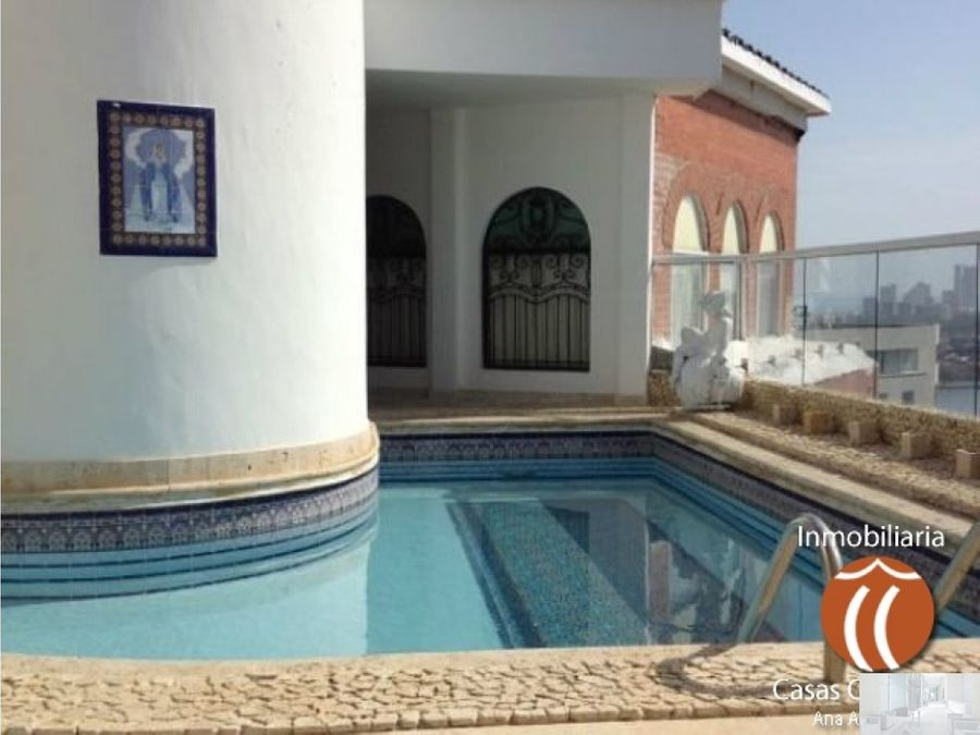 penthouse por dias piscina privada cartagena