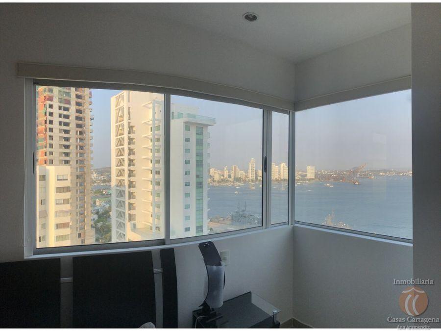 venta bocagrande 2 habitaciones vista al mar
