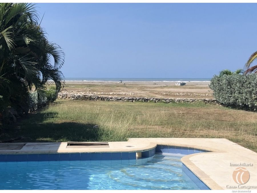 oportunidad venta de casa con salida al mar cartagena