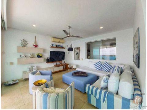 venta apartamento frente a la playa castillogrande pv cartagena