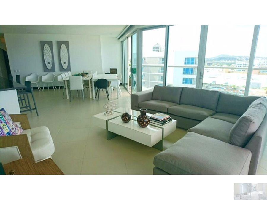 penthouse con piscina privada boquilla cartagena