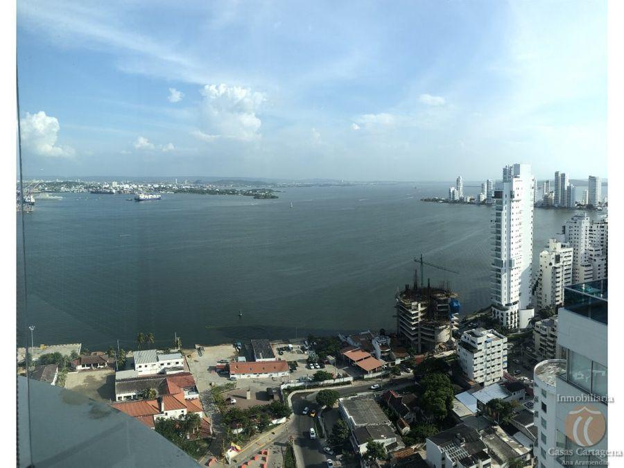 arriendo penthouse piso 31 cartagena colombia
