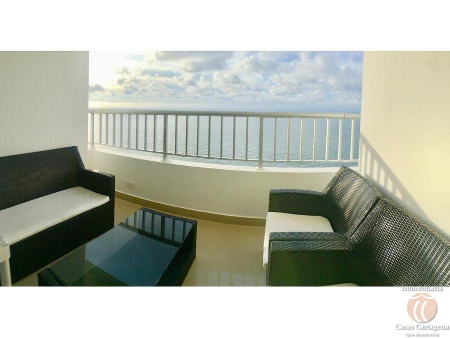 apartamento frente al mar palmetto cartagena