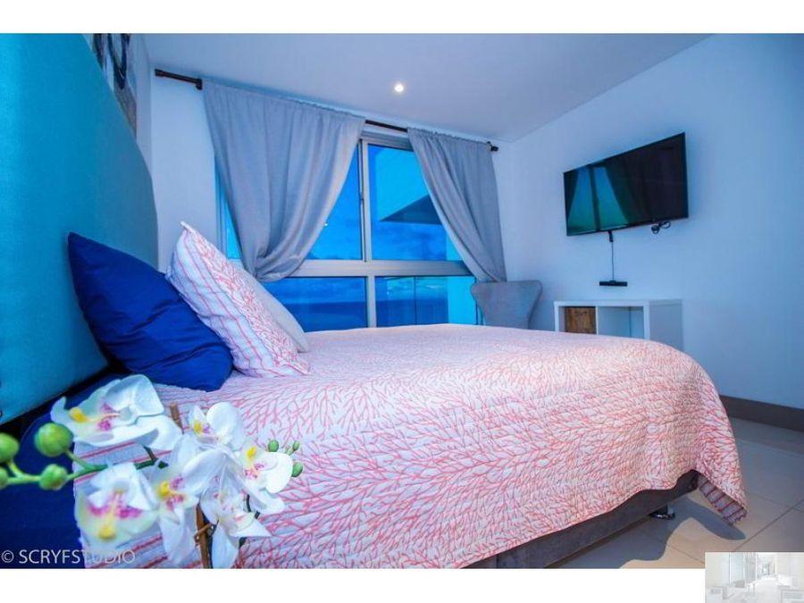 apartamento en cartagena palmetto beach piso 14