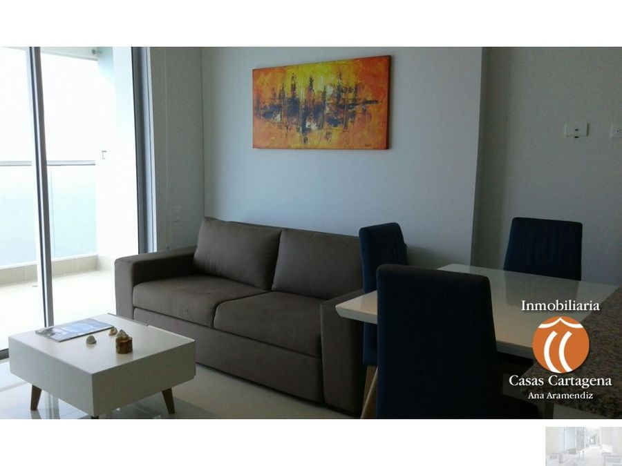 apartamento amoblado 1 alc palmetto beach piso 34