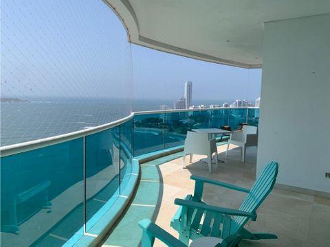 apartamento castillogrande con vista al mar cartagena
