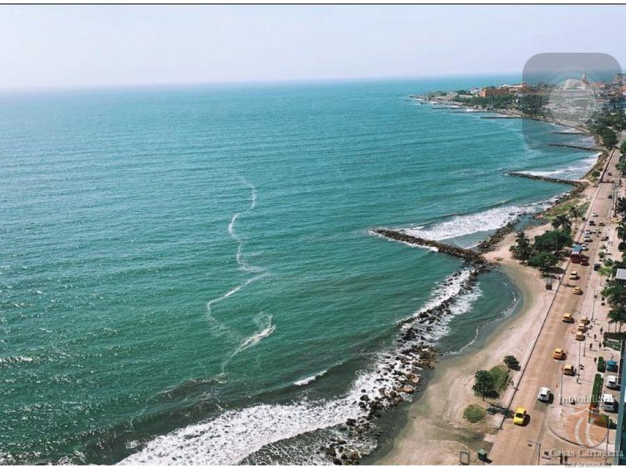 apartamento de 3 alcobas con vista al mar cartagena