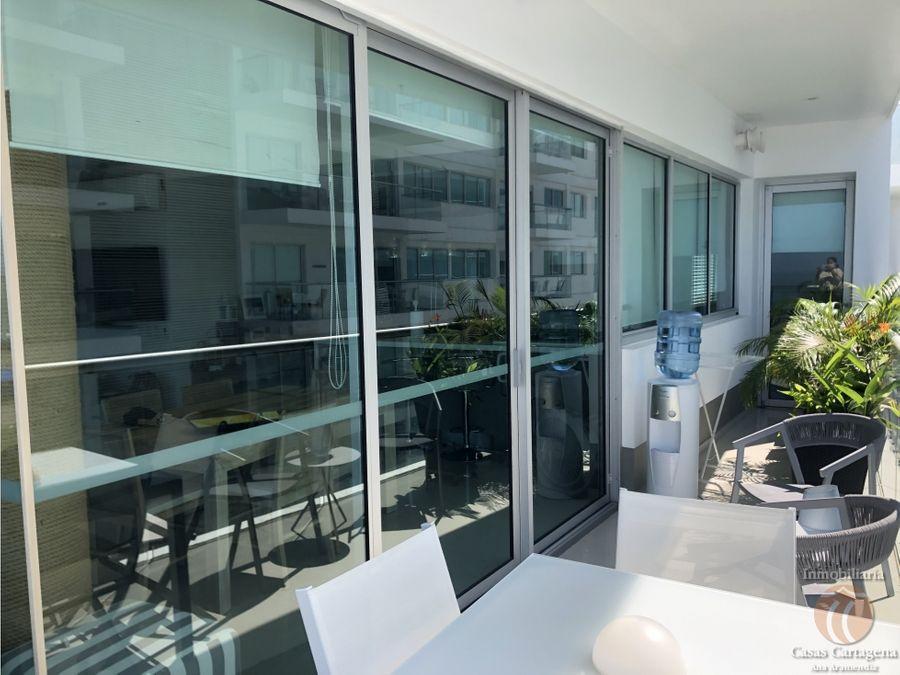 venta apartamento frontal al mar morros vitri la boquilla cartagena